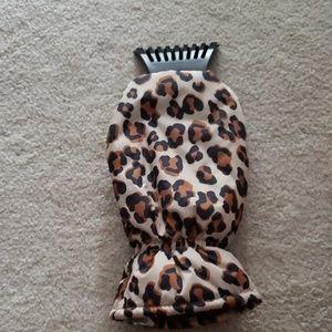 Cheetah Print Ice Scraper